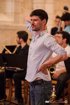 Mathieu Tarot & le Big Band Jazz du conservatoire de Bordeaux Jacques Thibaud. Festival JAZZ360 2018, Cénac. 09/06/2018