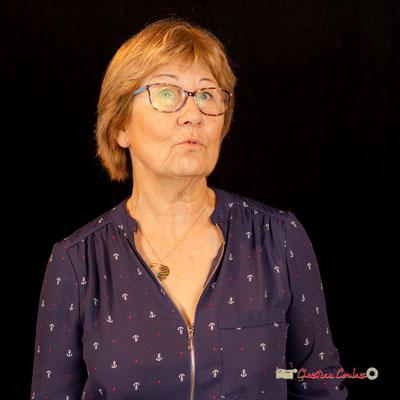 Maryse Pinol photographiée par Christian Coulais. Cénac, samedi 2 février 2019