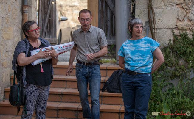 Réunion de travail avec les Insoumis, distribution du matériel de campagne, mise en place des prochains RDV, 12ème circonscription de la Gironde. 16/05/2017, Langoiran