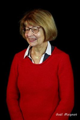 Michèle Pointet photographiée par Gaël Moignot. Cénac, samedi 2 février 2019