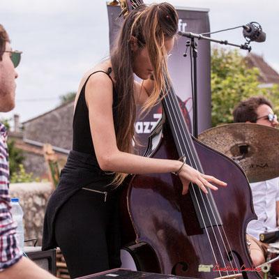 Robin Magord, Laure Sanchez; Atelier Jazz du conservatoire Jacques Thibaud. Festival JAZZ360 2018, Quinsac. 10/06/2018
