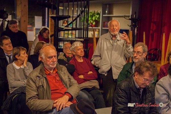 """Roger Caumont, Maire de Créon  de 1977 à 1995. Témoignages collectifs autour de la pédagogie Freinet, du Groupe d'Actions Municipales, du """"Partage du pouvoir local"""". Créon, 22/10/2019"""