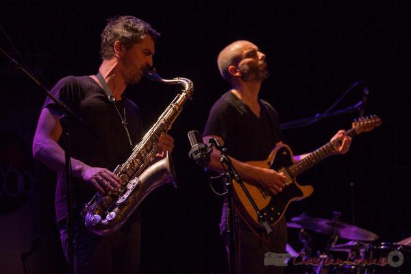 Sylvain Rifflet, Philippe Gordiani, Sylvain Rifflet Quartet, Festival JAZZ360 2016, Cénac