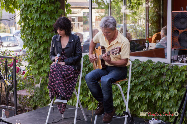 Charlotte Desbondant, Pascal Rauzé; Don't Explain, Festival JAZZ360 2019, Cénac. 08/06/2019