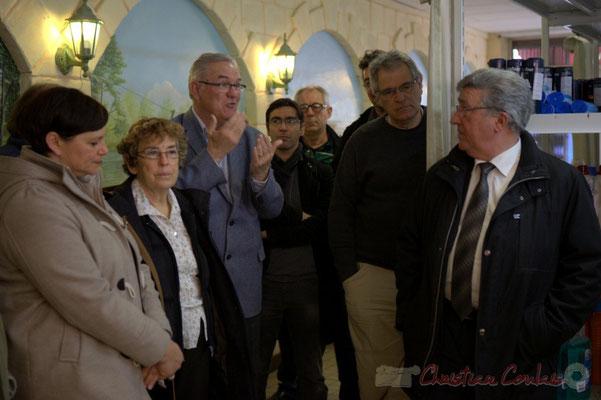 Jean-Marie Darmian, Vice-président du Conseil général de la Gironde, ancien Maire de Créon, fier de cette réussite qu'est la Cabane à Projets