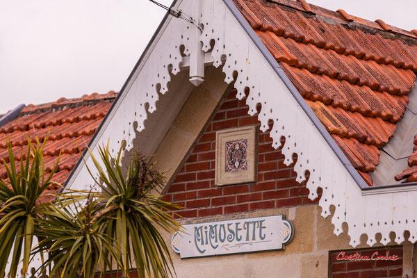 Villa Mimosette, Soulac-sur-Mer. Samedi 3 juillet 2021. Photographie © Christian Coulais