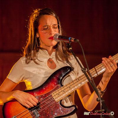 Laure Sanchez; Laure Sanchez Quintet, JAZZ360 au Domaine de Sentout, Lignan-de-Bordeaux. 08/09/2018