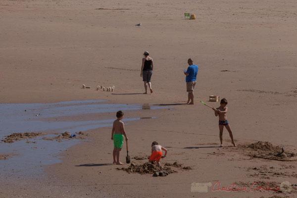 Jeux de plage, Saint-Gilles-Croix-de-Vie, Vendée, Pays de la Loire