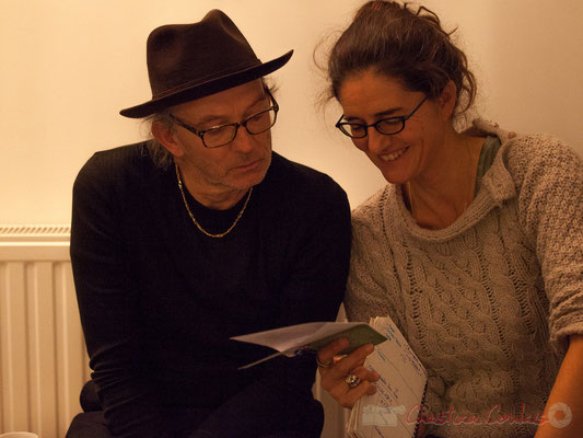 Philippe Cauvin, Pascale Martinez. Le Rocher de Palmer, 12/12/2015. Reproduction interdite - Tous droits réservés © Christian Coulais