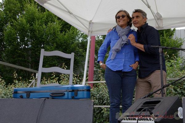 Festival JAZZ360 2015, est-ce Sandrine Salier et Vincent Michelet, élus à Latresne qui sont en 1ère partie ?