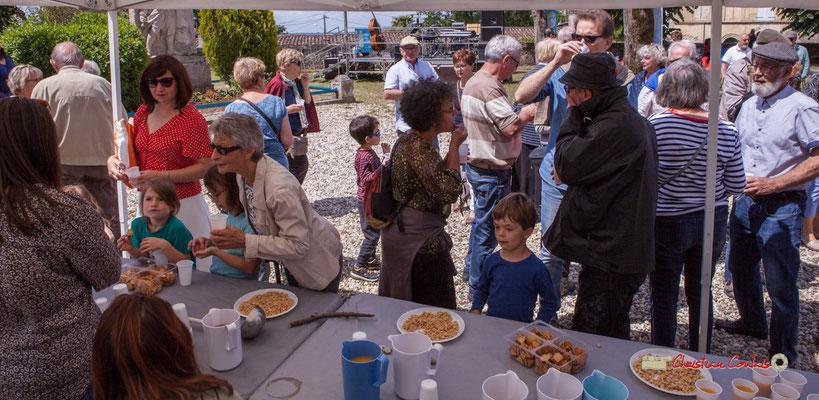 Festival JAZZ360 2019. Apéritif offert par la Mairie de Camblanes-et-Meynac. 08/06/2019