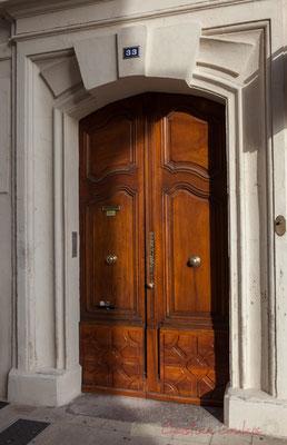 15 Porte double battant d'hôtel particulier, Arles