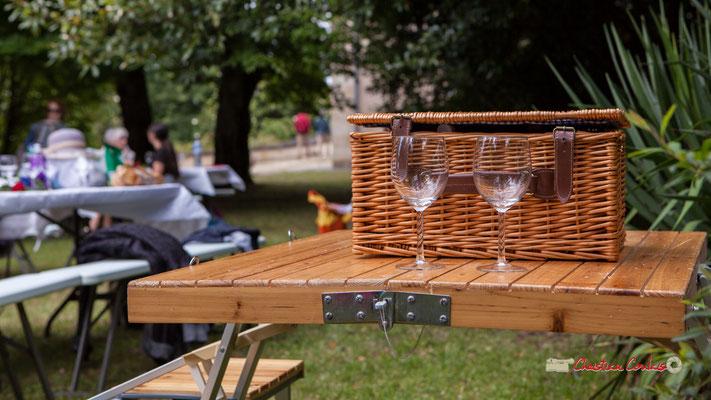 (Le très chic) Pique-nique vigneron avec Nicolas Saez Quartet, Festival JAZZ360 2019, Château Duplessy, Cénac, lundi 10 juin 2019