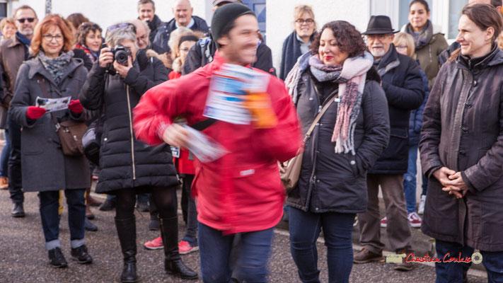 """""""Et hop un tour sur place"""" Collin Hill; Regards en biais, Cie La Hurlante, Hors Jeu / En Jeu, Mérignac. Samedi 24 novembre 2018"""