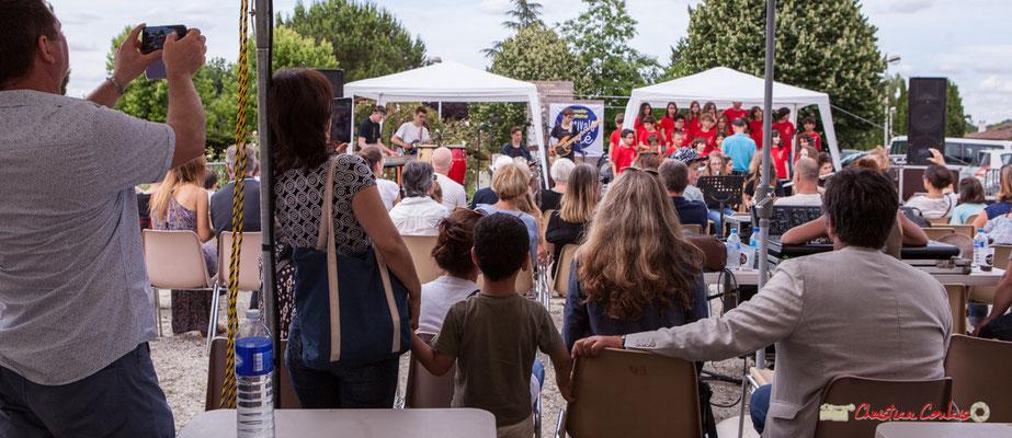 """""""La postérité vue par la lunette numérique des parents"""" Festival JAZZ360 2018, Cénac. 08/06/2018"""