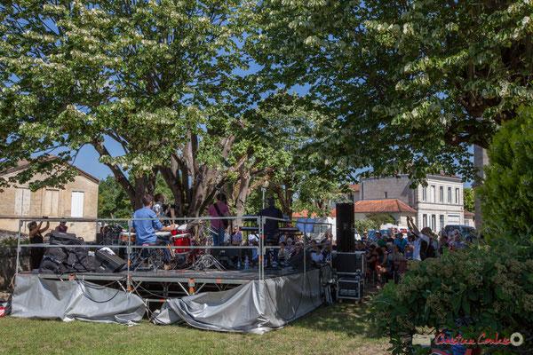 Tom Ibarra Group. Festival JAZZ360, 10 juin 2017, place de Verdun, Camblanes-et-Meynac