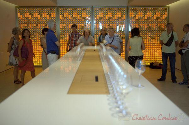 Château d'Yquem, salle de dégustation