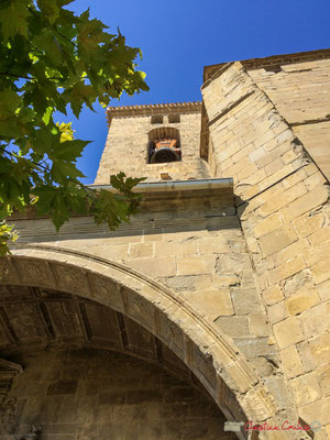Clocher de l'église San Pedro / Campanario de la iglesia de San Pedro, Aibar, Navarra