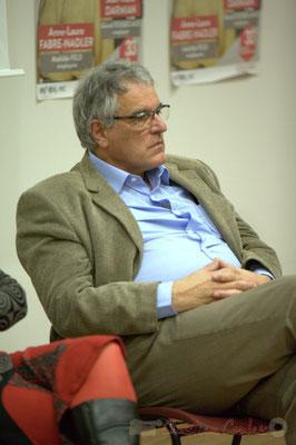 """Pierre Gachet. Meeting républicain des candidats """"Majorité départementale"""" aux élections départementales du canton de Créon, 19 mars 2015"""
