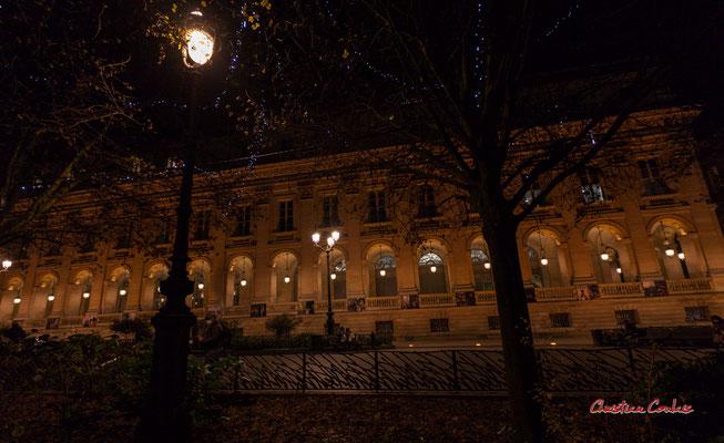 Grand-théâtre de Bordeaux par Victor Louis. Mercredi 16 décembre 2020. Photographie © Christian Coulais