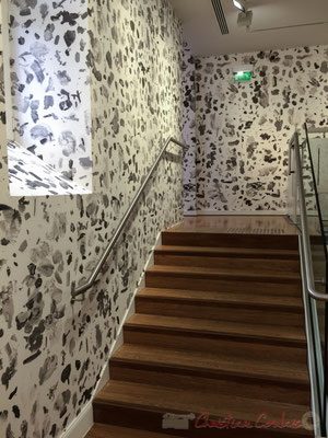 Urs Ficher Grayscale Mixing Palette #1, 2016. Grayscale Mixing Palette #2, 2016. Fondation Vincent van Gogh, Arles