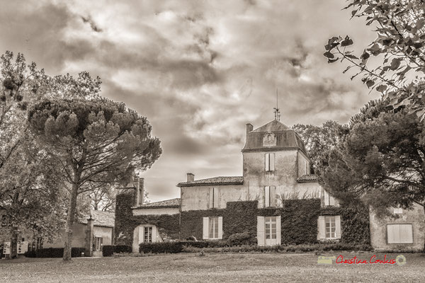 Domaine de Malagar, façade Nord. Centre François Mauriac, Saint-Maixant. 28/09/2019 Reproduction interdite - Tous droits réservés © Christian Coulais