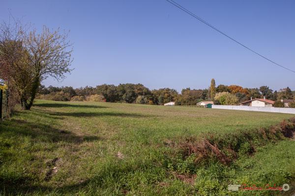 3 Zone agricole. Avenue de Moutille, Cénac, Gironde. 16/11/2017