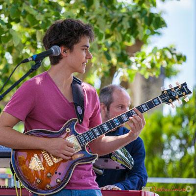 Tom Ibarra; Tom Ibarra Group. Festival JAZZ360, 10 juin 2017, Camblanes-et-Meynac