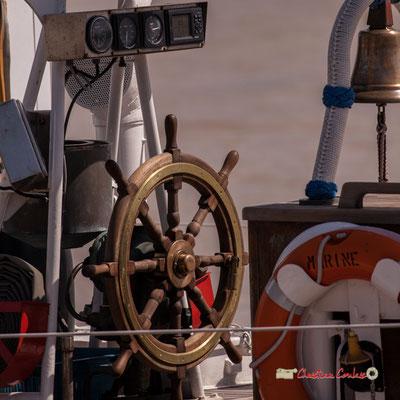 Barre du Zénobe Gramme, ketch bermudien, voilier-école à la Marine royale belge. Bordeaux, 22/06/2019 Reproduction interdite - Tous droits réservés © Christian Coulais