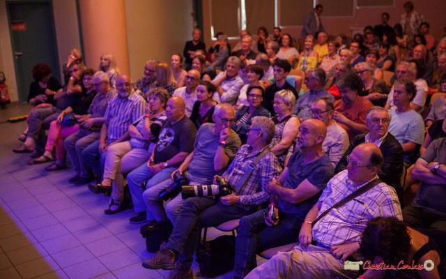 Action Jazz au premier rang. Festival JAZZ360 2018, salle culturelle climatisée de Cénac. 09/06/2018