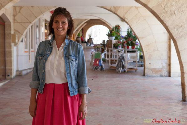 Anne-Laure Fabre-Nadler, candidate aux élections législatives 2017 Europe Ecologie les Verts / Parti Socialiste. Sauveterre-de-Guyenne, 16 mai 2017