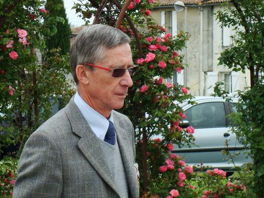 Commémoration de l'Armistice du 8 mai 1945; Gérard Pointet, Président des Anciens combattants; mardi 8 mai 2012