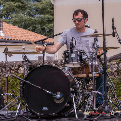 Guillaume Brissiaud; The Protolites. Festival JAZZ360 2019, Quinsac. 09/06/2019