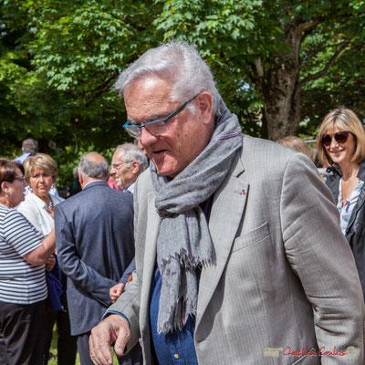 Jean-Marie Darmian, Vice-président au Conseil départemental, ancien Maire de Créon. 14 mai 2017, Blasimon