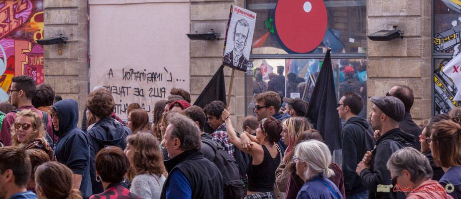 """Ingouvernable"" Manifestation intersyndicale de la Fonction publique, place Gambetta, Bordeaux. 10/10/2017"