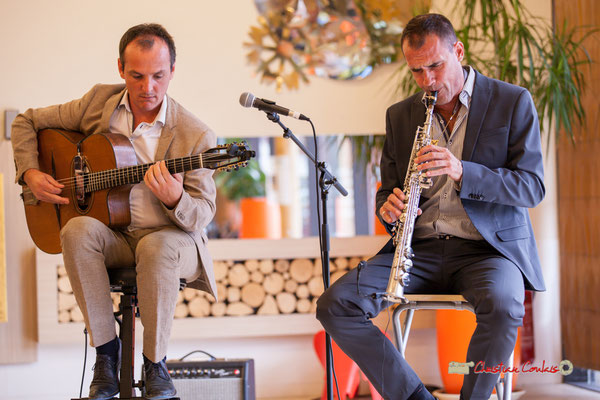 Olivier Tasseël, Cédric Meunier; Belzaii. JAZZ360 / Handivillage 33, Camblanes-et-Meynac, 14/09/2019