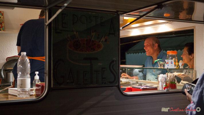 """2 """"Le Poste à Galettes"""". Festival JAZZ360, Cénac, 9 juin 2017"""