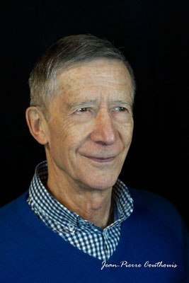 Gérard Pointet photographié par Jean-Pierre Couthouis. Cénac, samedi 2 février 2019