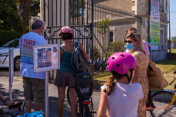 """""""Pass sanitaire obligatoire"""" De Citon-Cénac au château de Latresne; 5km. Ouvre la voix, dimanche 5 septembre 2021. Photographie © Christian Coulais"""