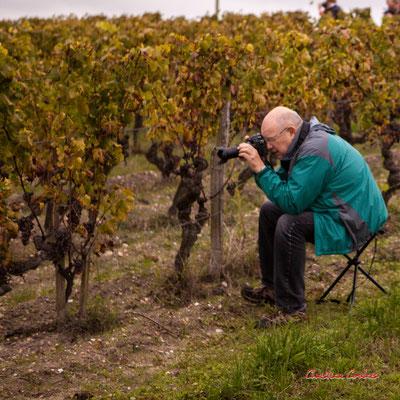 Prendre le temps d'une pose/pause; Vignoble du Sauternais, Château d'Yquem, Sauternes. Samedi 10 octobre 2020. Photographie © Christian Coulais