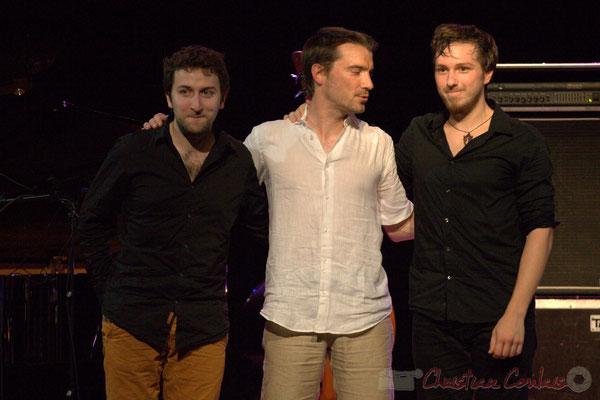 Festival JAZZ360 2015, Laurent Coulondre, Rémi Bouyssière, Martin Wangermée; Laurent Coulondre Trio. Cénac, 12/06/2015