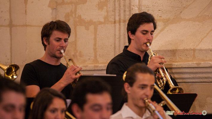 Paolo Chatet, Andrea Glockner; Big Band Jazz du conservatoire de Bordeaux Jacques Thibaud. Festival JAZZ360 2018, Cénac. 09/06/2018