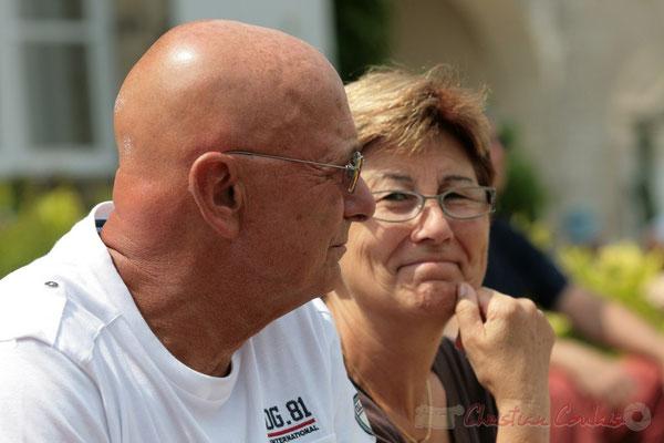 Daniel et Maryse, bénévoles au Festival JAZZ360, Quinsac. 05/06/2011
