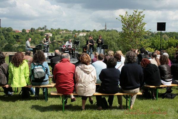 MovieJazzProject, Festival JAZZ360 2010, château Lestange, Quinsac, 16/05/2010