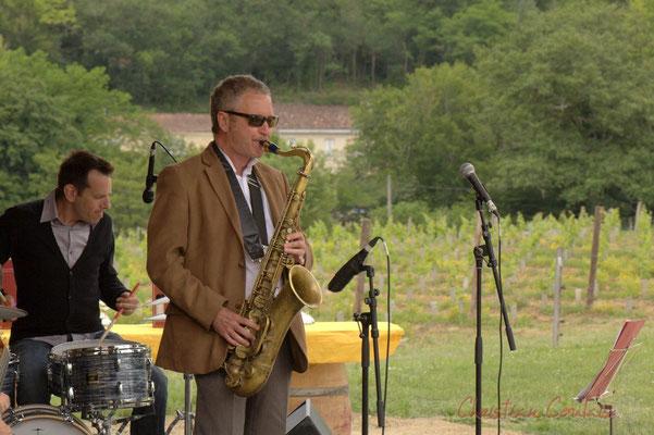 Didier Ottaviani, Alex Golino;Alex Golino & David Blenkhorn Quartet, Festival JAZZ360 2012, château Roquebrune, Cénac, samedi 9 juin 2012