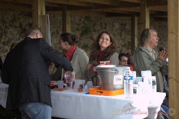 Bernadette Olivi, Choraleuse, Festival JAZZ360 2012, château Lestange, Quinsac, dimanche 10 juin 2012