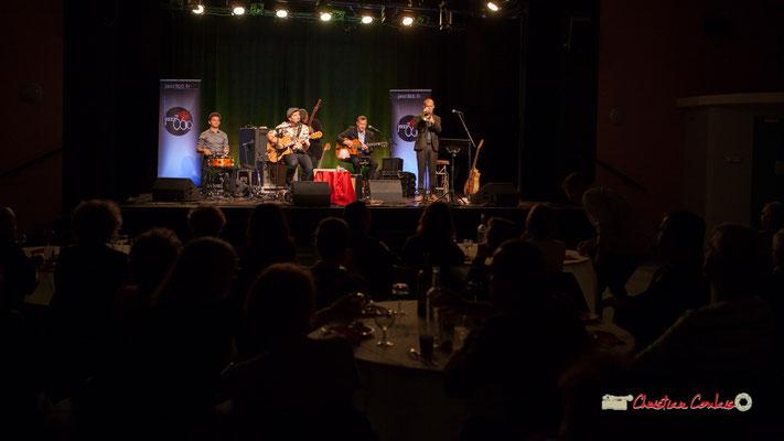 Concert de The Rix'tet, soirée club JAZZ360, Cénac. 05/10/2019
