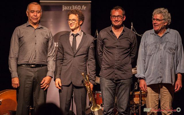 Standing ovation / Hommage debout pour Nokalipcis Project, Soirée-Cabaret JAZZ360, Cénac. Samedi 4 novembre 2017