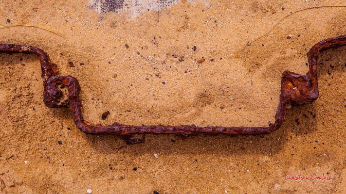 """""""Rouille palplanche"""" Bunker, batterie des Arros, mur de l'Atlantique, Soulac-sur-Mer. Samedi 3 juillet 2021. Photographie © Christian Coulais"""