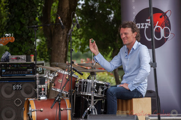 Christophe Léon Schelstraete, Taldea Group, Festival JAZZ360 2016, Quinsac, 12/06/2016